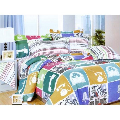 Двуспальный комплект постельного белья Y-230-603