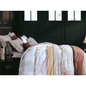 Полуторный комплект постельного белья Y-230-606