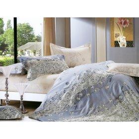 Полуторный комплект постельного белья Y-230-622