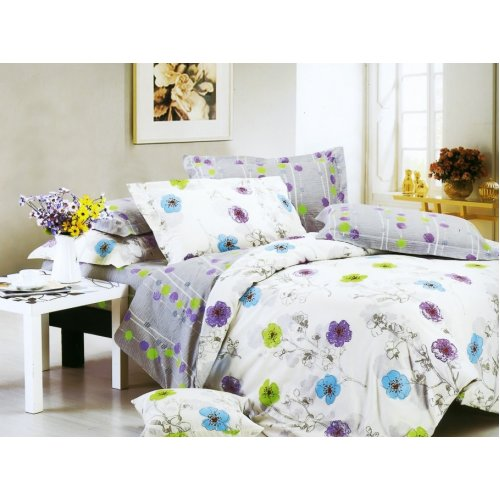 Полуторный комплект постельного белья Y-230-633