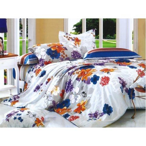 Полуторный комплект постельного белья Y-230-635