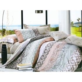 Полуторный комплект постельного белья Y-230-636