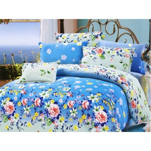 Полуторный комплект постельного белья Y-230-641