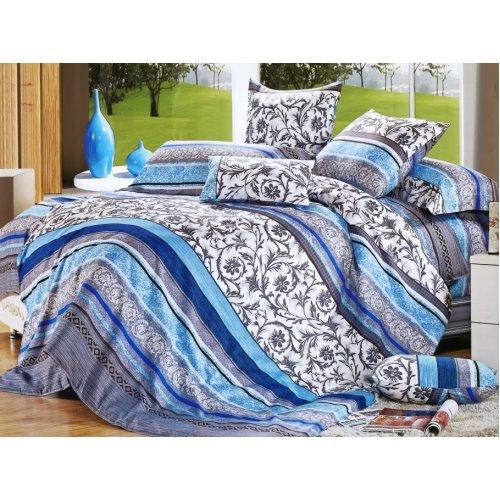 Полуторный комплект постельного белья Y-230-652