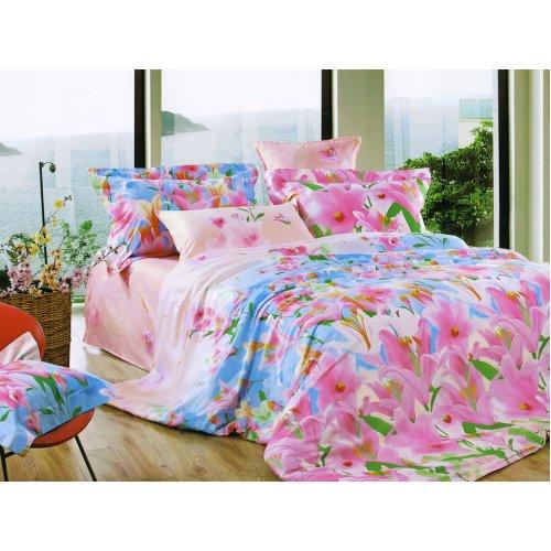 Полуторный комплект постельного белья Y-230-661