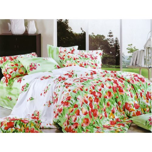 Полуторный комплект постельного белья Y-230-667