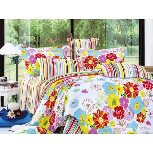 Полуторный комплект постельного белья Y-230-669