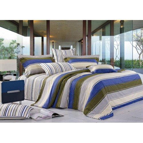 Семейный комплект постельного белья Y-13
