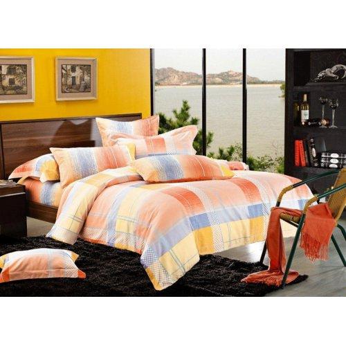 Двуспальный комплект постельного белья Y-18