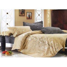 Полуторный комплект постельного белья Y-230-523