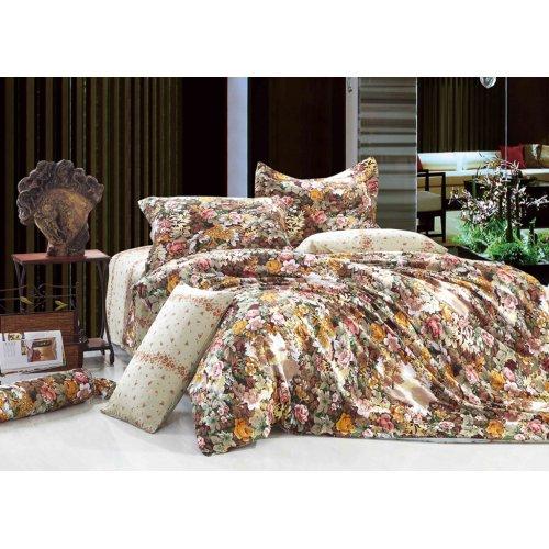 Полуторный комплект постельного белья Y-230-586