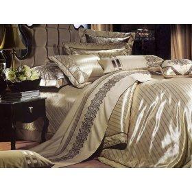 Жаккардовый комплект постельного белья 3D-53