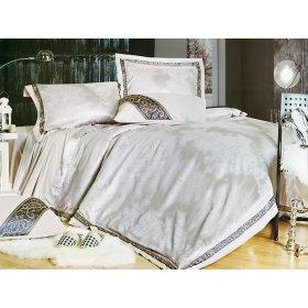 Семейный жаккардовый комплект постельного белья 3D-071