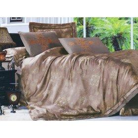 Семейный жаккардовый комплект постельного белья 3D-082