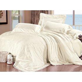 Жаккардовый комплект постельного белья Lux-03