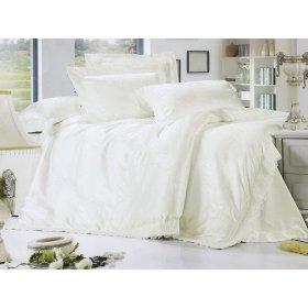Двуспальный жаккардовый комплект постельного белья Lux-07