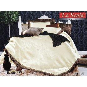 Жаккардовый комплект постельного белья 3D-102