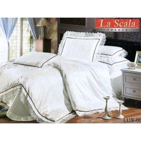 Жаккардовый комплект постельного белья Lux-06