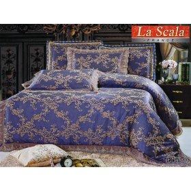Жаккардовый комплект постельного белья Lux-08