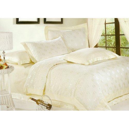 Двуспальный жаккардовый комплект постельного белья JT-30