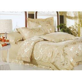 Семейный жаккардовый комплект постельного белья JT-36