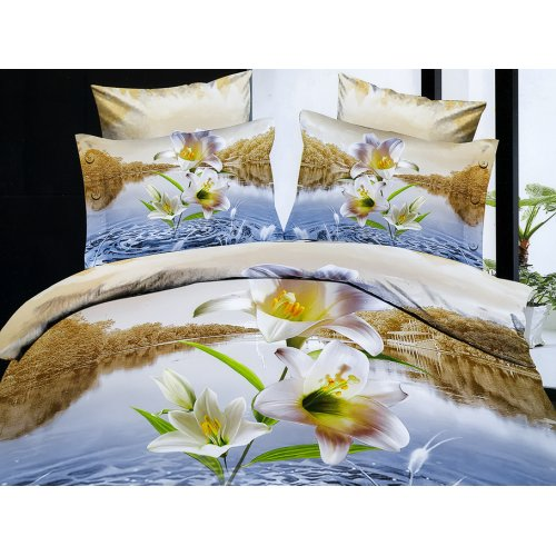Полуторный комплект постельного белья АВ-392