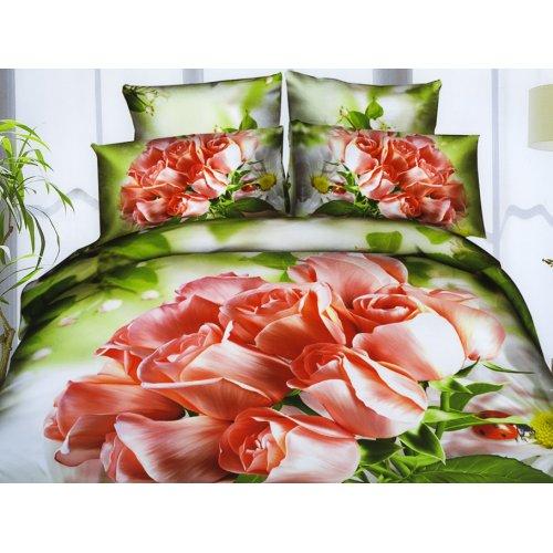 Комплект постельного белья АВ-395 двуспальный-евро