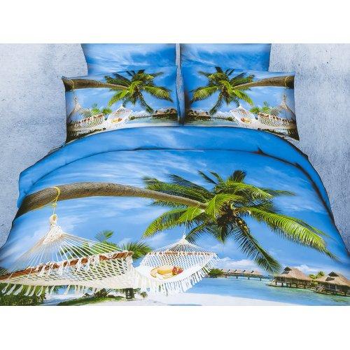 Комплект постельного белья АВ-407 двуспальный-евро