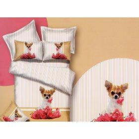 Комплект постельного белья АВС-301 двуспальный-евро