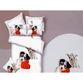 Семейный комплект постельного белья АВС-305