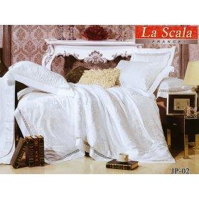 Комплект постельного белья JP-02 двуспальный-евро