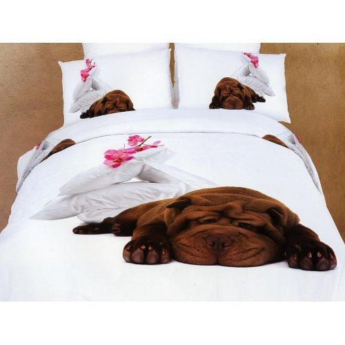 Комплект постельного белья АВС-302 двуспальный-евро