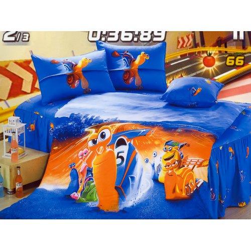 Детский полуторный комплект постельного белья KI-085
