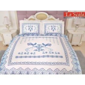 Семейный комплект постельного белья P-039