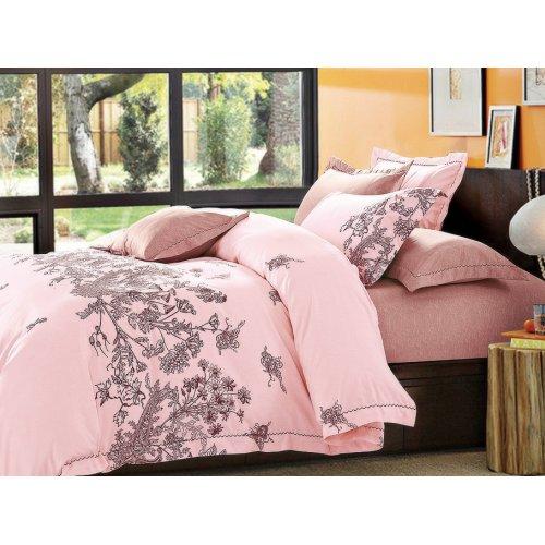 Двуспальный Евро комплект постельного белья PC-001