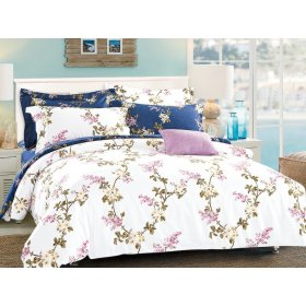Двуспальный Евро комплект постельного белья PC-004