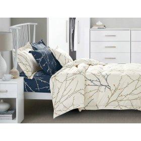 Двуспальный Евро комплект постельного белья PC-005