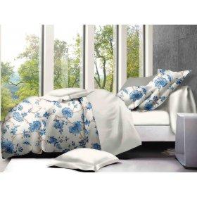 Двуспальный Евро комплект постельного белья PC-011