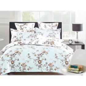 Двуспальный Евро комплект постельного белья PC-013