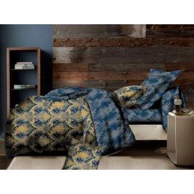 Двуспальный Евро комплект постельного белья PC-014