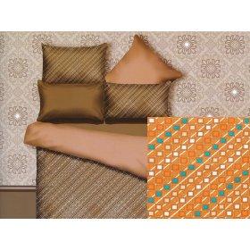 Двуспальный Евро комплект постельного белья PC-017