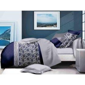 Двуспальный Евро комплект постельного белья PC-023