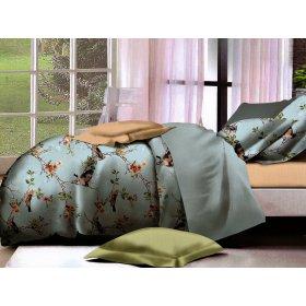 Двуспальный Евро комплект постельного белья PC-031