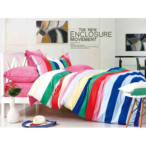 Комплект постельного белья Y-230-671 двуспальный-евро