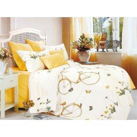 Двуспальный Евро комплект постельного белья Y-230-683