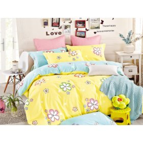 Двуспальный Евро комплект постельного белья Y-230-696
