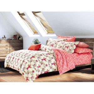 Двуспальный Евро комплект постельного белья Y-230-709