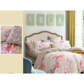 Двуспальный Евро комплект постельного белья Y-230-710