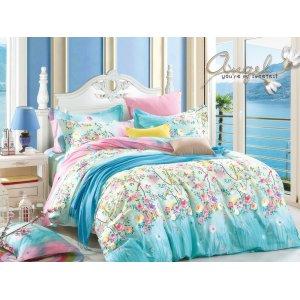 Двуспальный Евро комплект постельного белья Y-230-712