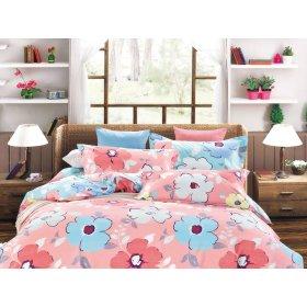 Двуспальный Евро комплект постельного белья Y-230-714